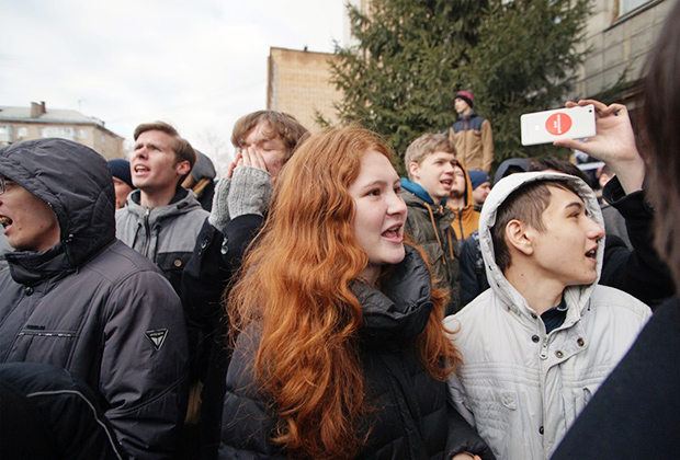 Антикоррупционный митинг в Самаре