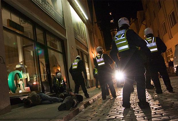 Во время «бронзовых ночей» в столице Эстонии были десятки задержанных