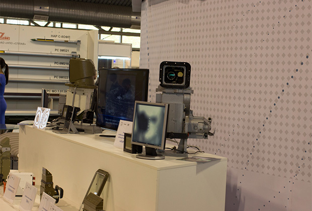 Тепловизионный прицел «Агат-МДТ» на RAE-2013