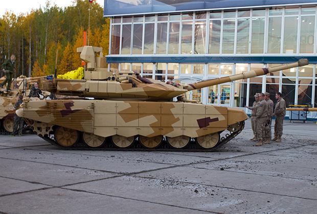 Т-90СМ на RAE-2013