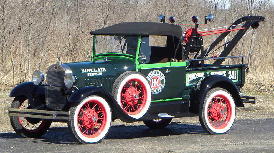 Ford Model A Sinclair Service Wrecker, 1928