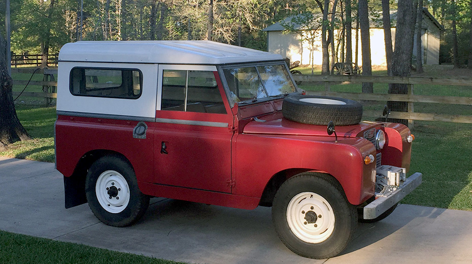 Land Rover Series II, 1959