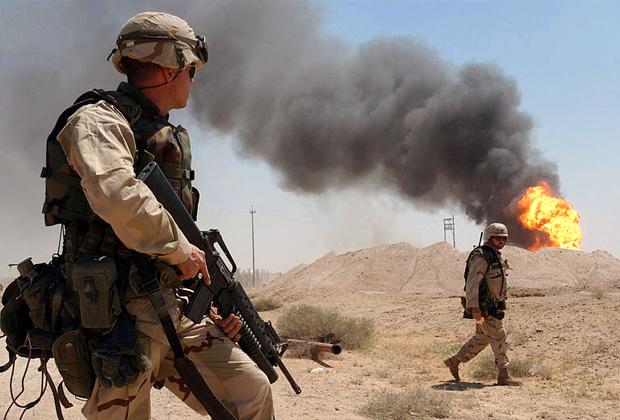 Американцы на юге Ирака, 2003 год