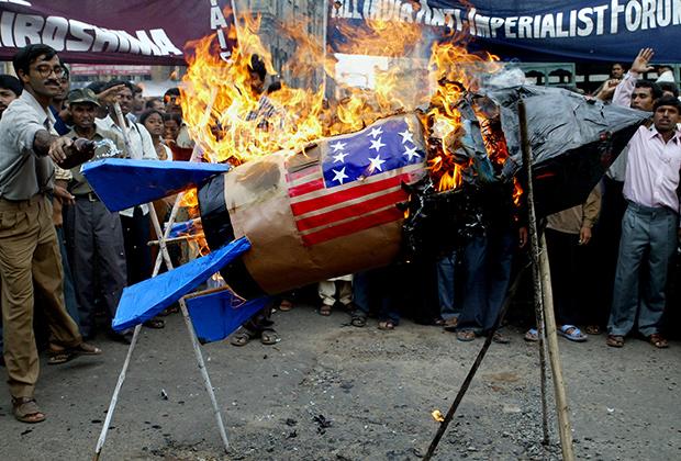Протесты против ядерного оружия в Индии