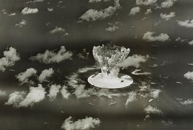 Испытания ядерной бомбы на атолле Бикини, 1946 год