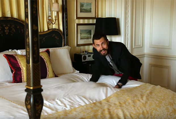 Бедняков исследует номер в Savoy стоимостью 25 тысяч фунтов в сутки