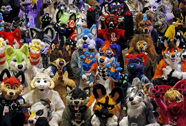 Фурри на конвенте FurFest