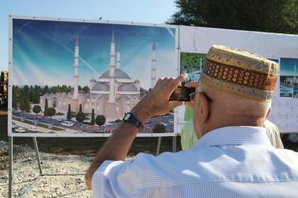 ВСимферополе начали строить строение основной мечети Крыма