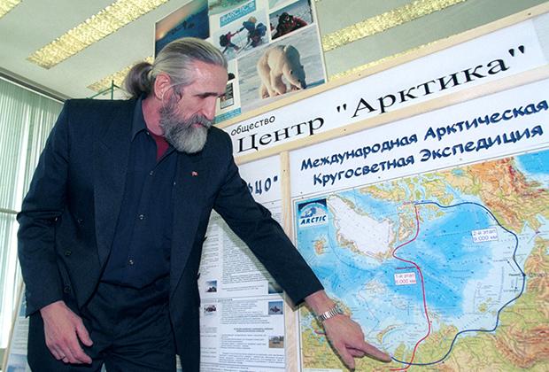 Владимир Чуков рассказывает о предстоящей экспедиции