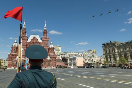 Онлайн трансляция сКрасной площади— Парад в российской столице