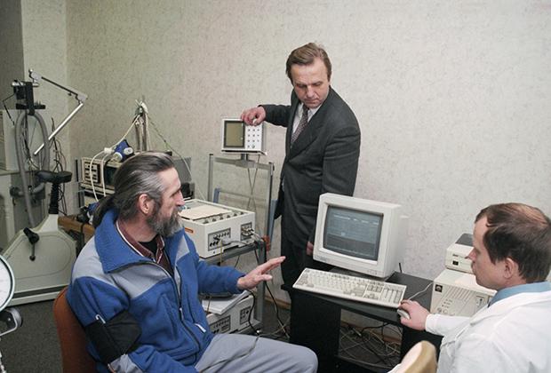 23 декабря 1997 г. Владимир Чуков и Юрий Гольцев