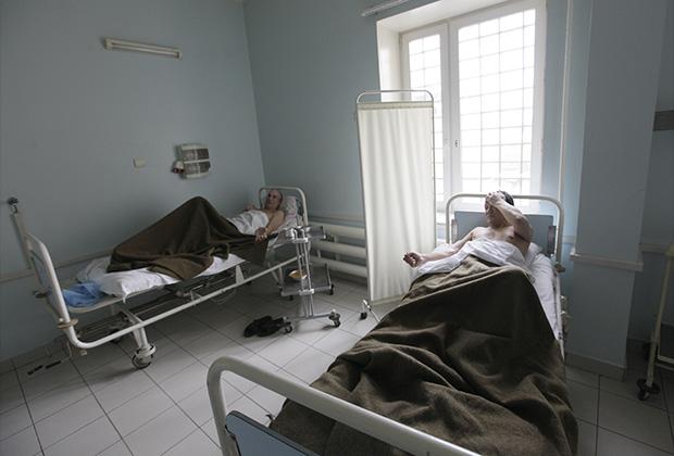 Заключенные в больнице СИЗО «Матросская тишина»