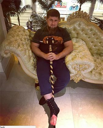 Глава Чечни Рамзан Кадыров травмы на тренировках получал неоднократно