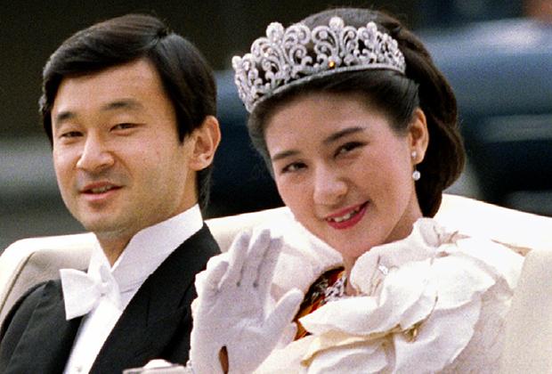 Наследная принцесса Масако и ее супруг, наследный принц Нарухито