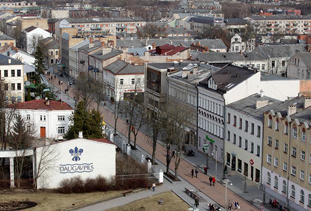 Даугавпилс — второй по величине город Латвии