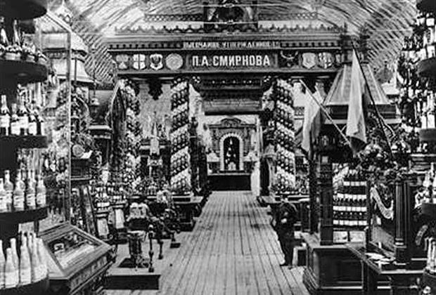 Один из магазинов Смирнова