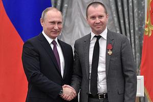 Владимир Путин наградил Евгения Миронова орденом «За заслуги перед Отечеством» IV степени