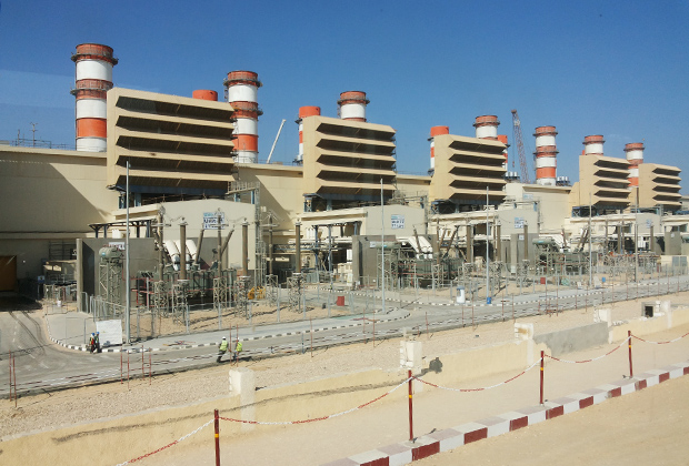 Электростанция в Бени-Суэйф