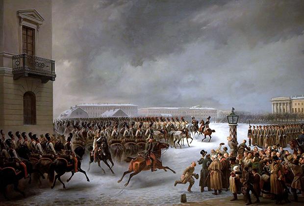 Восстание 14 декабря 1825 года на Сенатской площади