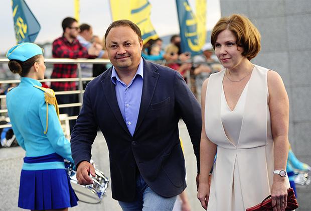 Игорь Пушкарев с супругой Натальей