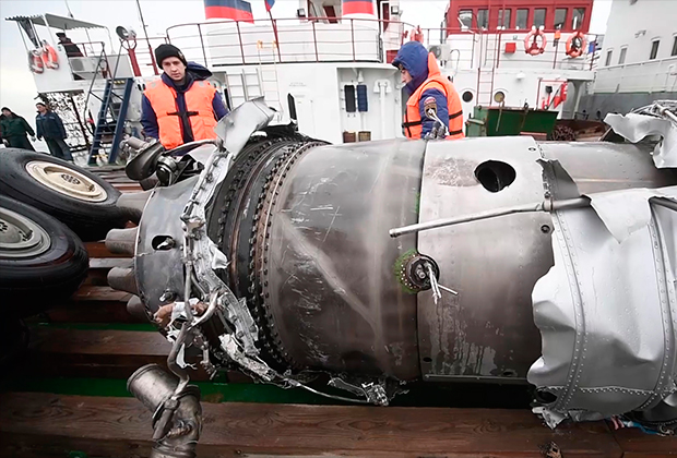 Первопричиной крушения Ту-154 вСочи названа ошибка капитана