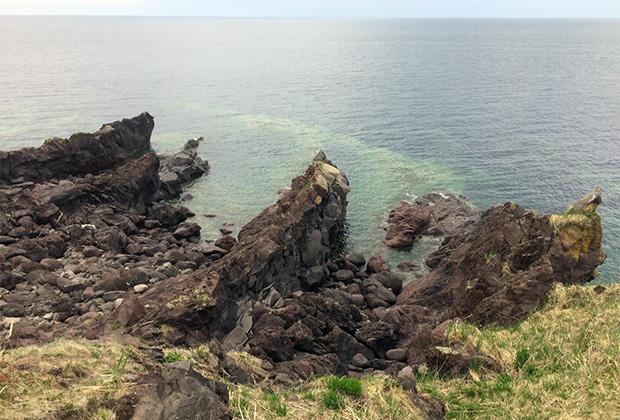 Лавовые скалы Янкито напоминают о некогда бурной вулканической активности