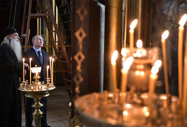 Глава государства впервые после Раскола Русской Церкви приехал к староверам