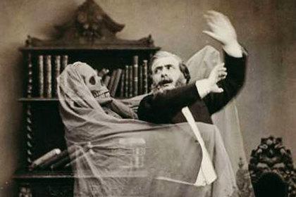 Реклама шоу французского иллюзиониста Анри Робена, 1863