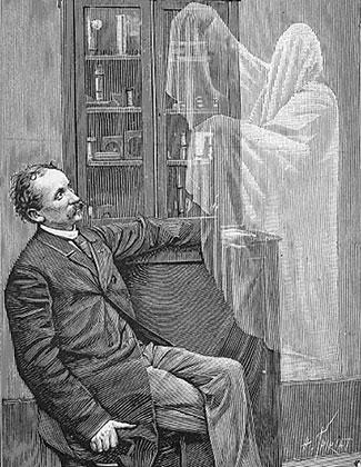 Иллюстрация к книге Уолтера Вудбери Photographic Amusements, 1896 год