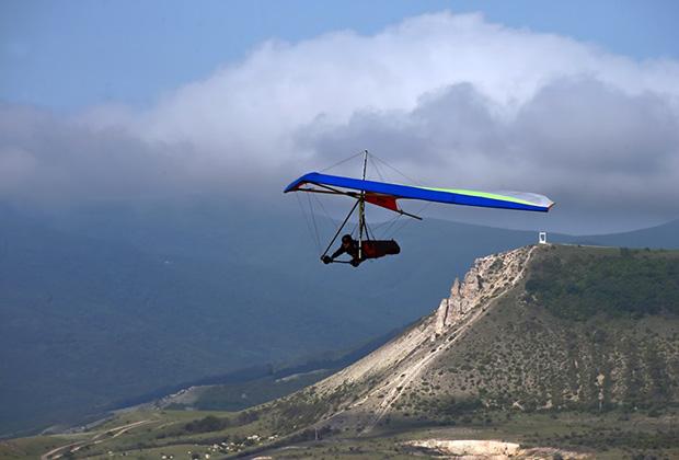 Гора Клементьева — единственное место в Европе, где формируются восходящие потоки воздуха