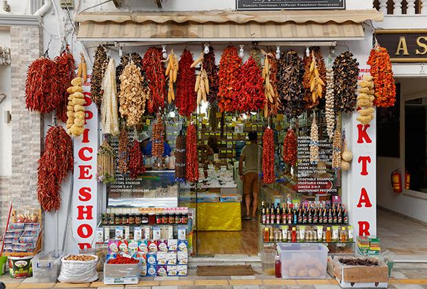 Уличная торговля в Бодруме процветает