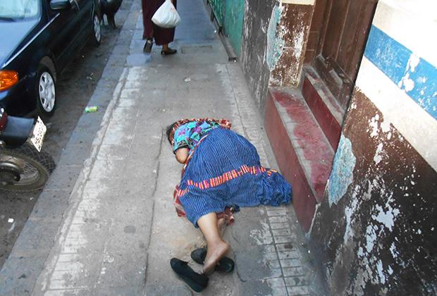 Многие индейцы страдают от алкоголизма