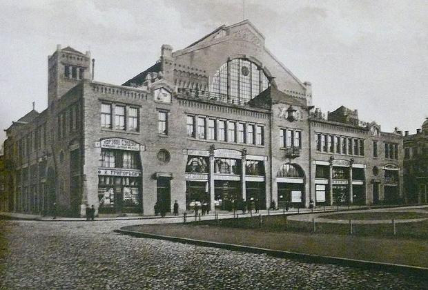 Бессарабский рынок. Фотография начала ХХ века