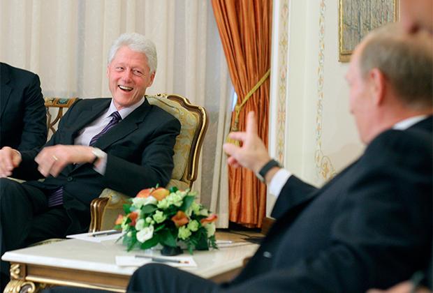 С Биллом Клинтоном у Владимира Путина сложились добрые отношения