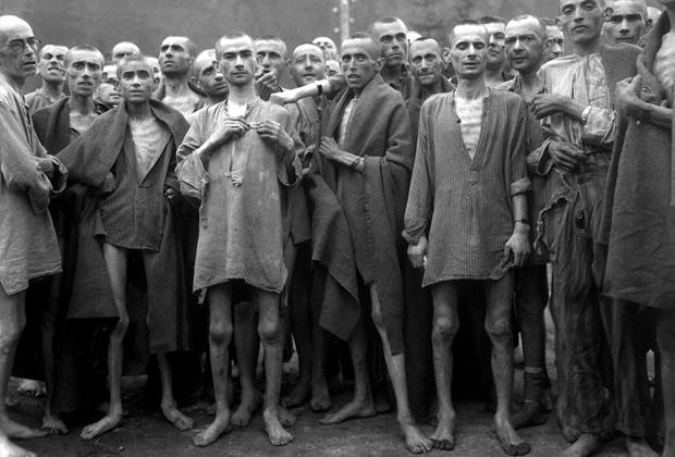 Освобожденные узники Маутхаузена