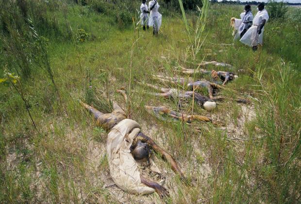 Жертвы геноцида в Руанде