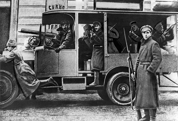 Революционная Москва, 1917 год