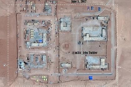 Опубликованы спутниковые снимки новой базы США в Сирии