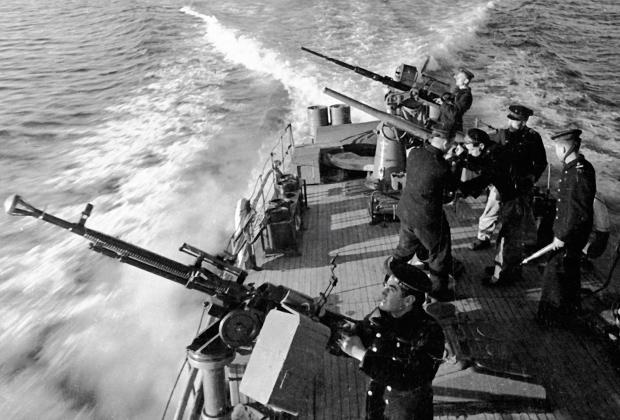 Катерники Черноморского флота в боевом походе, август 1941 года