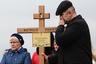 На похоронах жертв теракта в Санкт-Петербурге