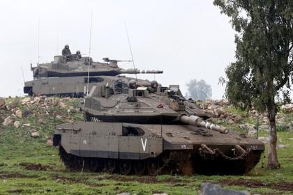 ВВС Израиля обстреляли сирийских минометчиков на Голанских высотах