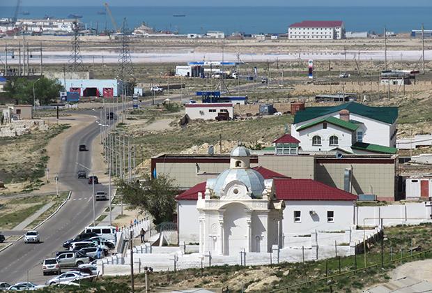 В 1834 году на мелководном заливе Мертвый Култук была заложена Новоалександровская крепость