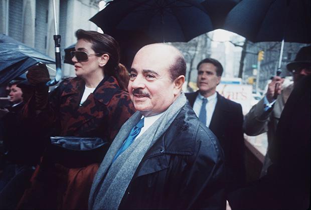 Аднан Хашогги спустя девять лет после описываемых событий, 1990 год