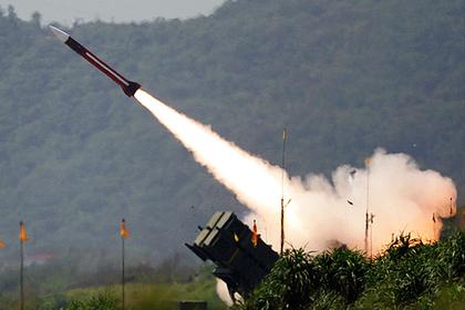 ЗРК Patriot на учениях на Тайване, июль 2006 года