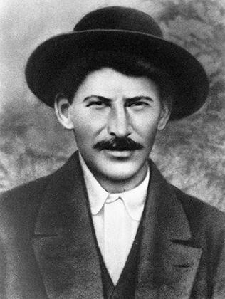 Иосиф Сталин (Джугашвили) во время туруханской ссылки