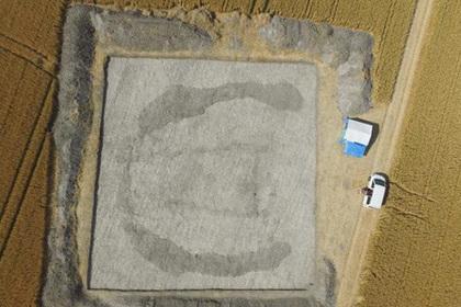 Снимок «Дома мертвых» с дрона