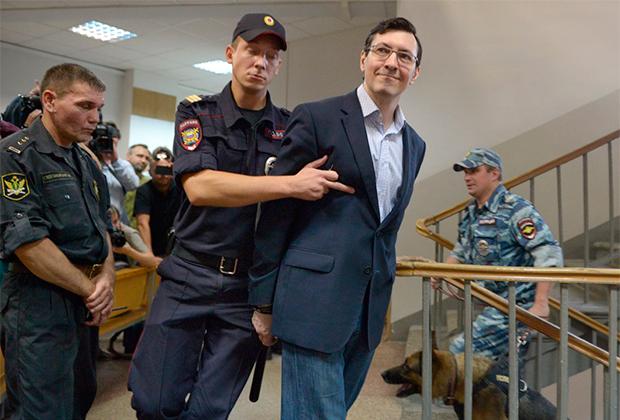 Один из лидеров запрещенного в России националистического движения «Русские» Александр Белов.