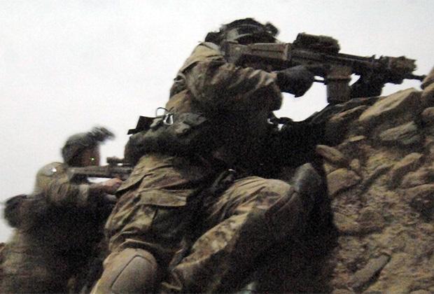 Американский спецназ ведет бой в провинции Хост во время операции против Хаккани