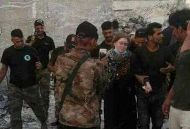 В июле девушку обнаружили в Мосуле иракские военные