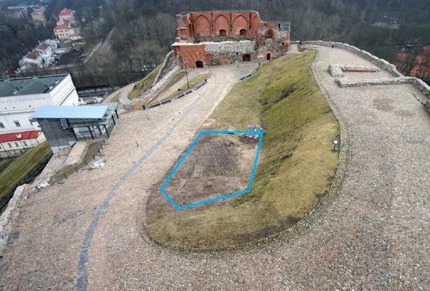 Замковая гора в Вильнюсе